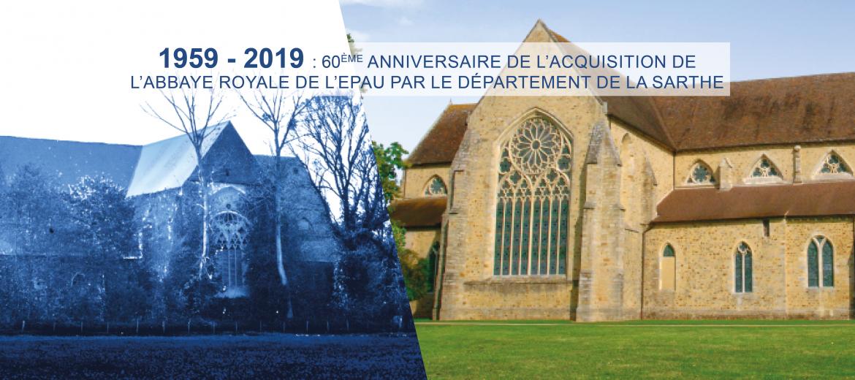 60e anniversaire de l'acquisition de l'abbaye par le Département